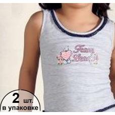 7187 майка для девочек (2шт.)