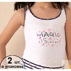 7194 майка для девочек (2шт.)