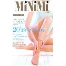 MIN Brio20 (2 пары) носки жен.