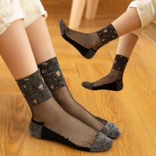 S1002-04 носки жен.высокие