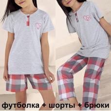 7507 пижама для девочек (9/10,11/12,13/14)